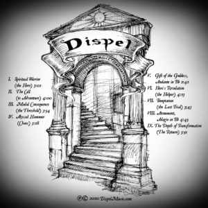 Dispel - CD Temple by Scott 'Wizardfool' Stearns